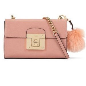 Aldo Pink Chirade Turnlock Shoulder Bag